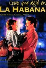 Cosas Que Dejé En La Habana (1997) afişi