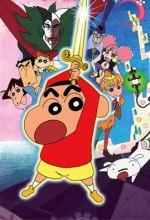 Crayon Shin-chan: Chou Arashi O Yobu Kinpoko No Yuusha (2008) afişi