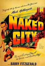 Çıplak şehir (1948) afişi