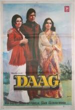 Daag (1952) afişi