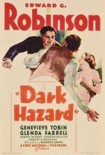 Dark Hazard (1934) afişi