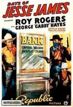 Days Of Jesse James (1939) afişi