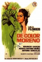 De Color Moreno (1963) afişi