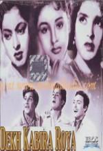 Dekh Kabira Roya (1957) afişi
