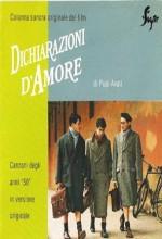 Dichiarazioni D'amore (1994) afişi