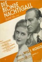 Die Blonde Nachtigall (1930) afişi