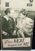Diese Nacht Vergess Ich Nie (1949) afişi