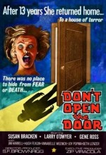 Don't Open The Door (1975) afişi