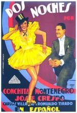Dos Noches (1933) afişi