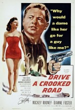 Drive A Crooked Road (1954) afişi