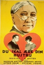 Du Skal ære Din Hustru (1925) afişi