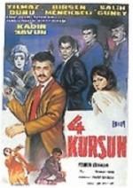 Dört Kurşun (1966) afişi