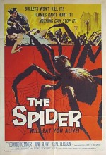 Earth Vs. The Spider (1958) afişi