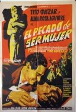El Pecado De Ser Mujer (1955) afişi