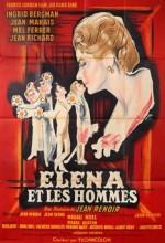 Elena Et Les Hommes (1956) afişi
