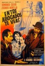Entre Abogados Te Veas (1951) afişi
