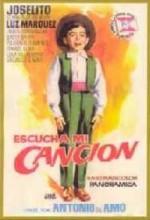 Escucha Mi Canción (1959) afişi