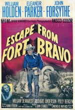 Escape From Fort Bravo (1953) afişi