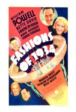 Fashions Of 1934 (1934) afişi