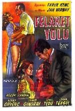 Felaket Yolu (1959) afişi