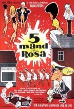 Fem Mand Og Rosa