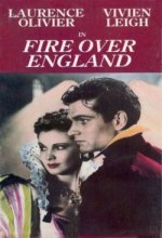 Fire Over England (1937) afişi