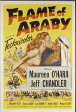 Flame Of Araby (1951) afişi