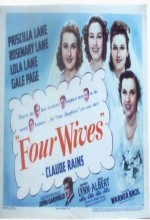 Four Wives (1939) afişi