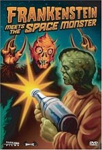 Frankenstein Meets The Space Monster (1965) afişi