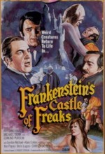 Frankenstein's Castle Of Freaks (1974) afişi