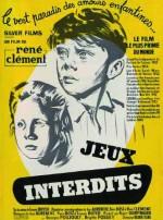 Yasak Oyunlar (1952) afişi