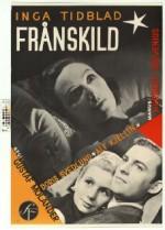 Frånskild (1951) afişi