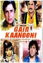 Gair Kaanooni (1989) afişi
