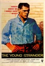 Genç Yabancı (1957) afişi