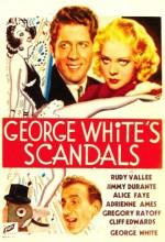 George White'ın Skandalı (1934) afişi