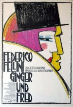 Ginger Ve Fred (1986) afişi