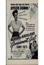 Government Girl (1943) afişi