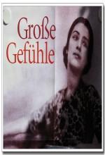Große Gefühle (1999) afişi