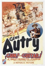 Guns And Guitars (1936) afişi