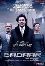 Gadaar: The Traitor (2015) afişi