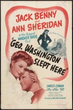 George Washington Slept Here (1942) afişi