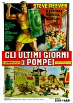 Gli Ultimi Giorni Di Pompei (1959) afişi