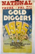 Gold Diggers Of 1935 (1935) afişi