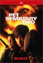 Hayvan Mezarlığı 2 (1992) afişi