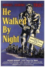 He Walked by Night (1948) afişi