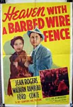 Heaven With A Barbed Wire Fence (1939) afişi