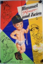 Himmel, Amor Und Zwirn (1960) afişi