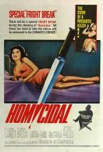 Homicidal (1961) afişi
