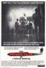 Hoover'ın özel Dosyaları (1977) afişi