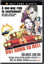 Hot Rods To Hell (1967) afişi